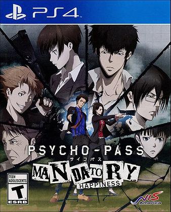 PSYCHO-PAS MANDATORY HAPPINESS. PS4