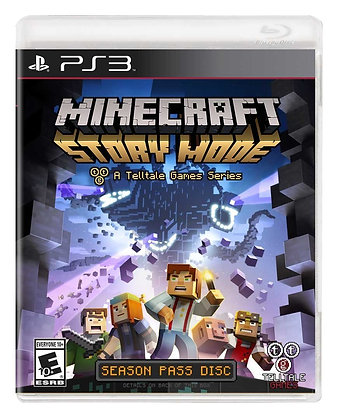 Minecraft Story Mode. PS3