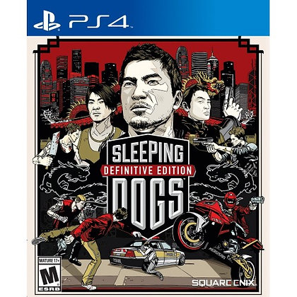 SLEEPING DOGS DEFINITIVE EDITION. PS4