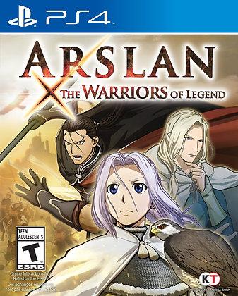 Arslan the Warriors of Legend. PS4