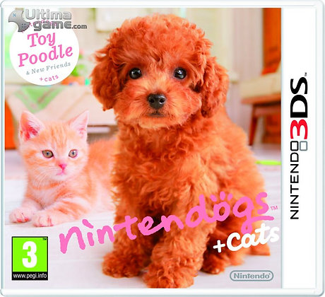 NINTENDOGS+CATS TOY POODLE 3DS