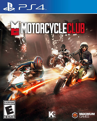 Motorcycle Club. PS4