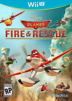 PLANES: FIRE & RESCUE WII U