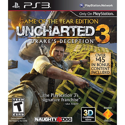 Uncharted 3 Drake's Deception. PS3