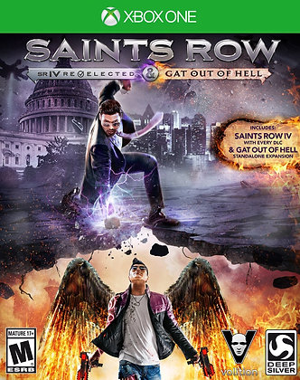 Saints Row IV Re-Elected. Xbox one