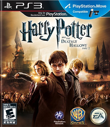 Harry Potter and the Deathly Hallows Part 2. PS3