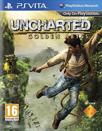 UNCHARTED GOLDEN ABYSS PSV