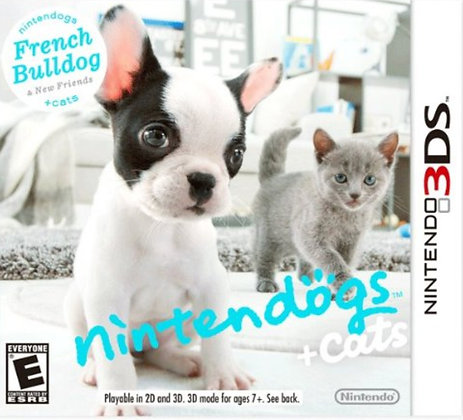 NINTENDOGS+CATS FRENCH BULLDOG 3DS