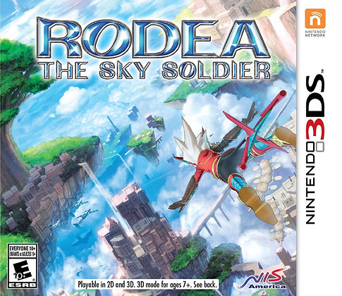 Rodea The Sky Soldier. 3DS