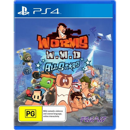 WORMS WMD. PS4