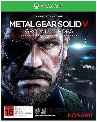 METAL GEAR SOLID V GROUND ZERO XONE