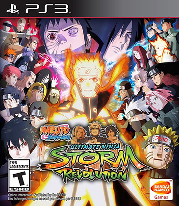 Naruto Ship. Ultimate Ninja Storm Revolution.  PS3