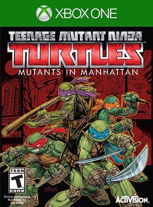 TMNT: MUTANTES EN MANHATTAN. XBOX ONE