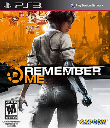 Remember Me. PS3