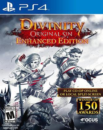 Divinity Original Sin Enhanced Edition. PS4