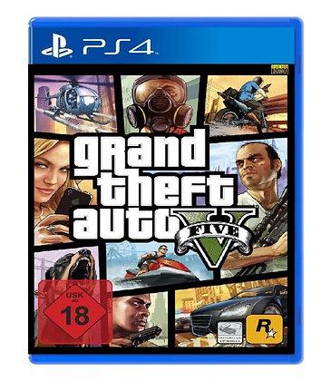 GRAND THEF AUTO V. PS4