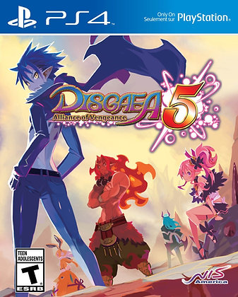 Disgaea 5 Alliance of Vengeance. PS4