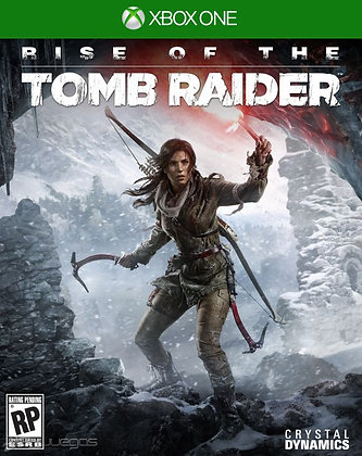 RISE OF TOMB RAIDER. XBOX ONE