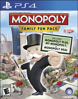 Monopoly Family Fun Pack.  PS4