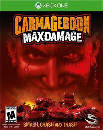 CARMAGEDDON MAX DAMAGE. XBOX ONE
