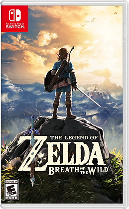 The Legend Of Zelda: Breath Of The Wild. Switch