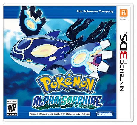 Pokémon Zafiro Alfa 3DS