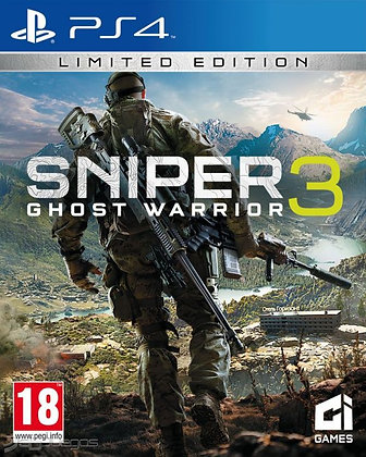 SNIPER GHOST WARRIOR 3. PS4