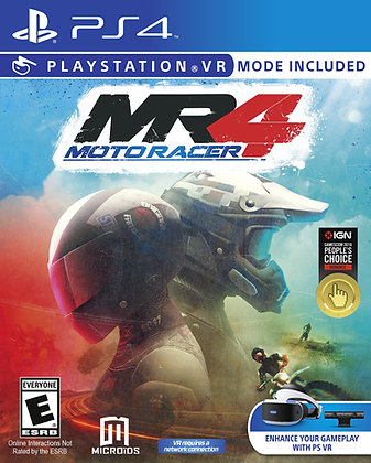 MOTO RACER 4. PS4