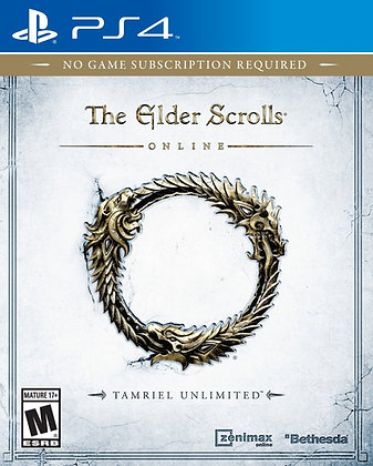 The Elder Scrolls Online Tamriel Unlimited. PS4
