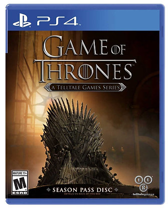 Game of Thrones A Telltale Games Series. PS4