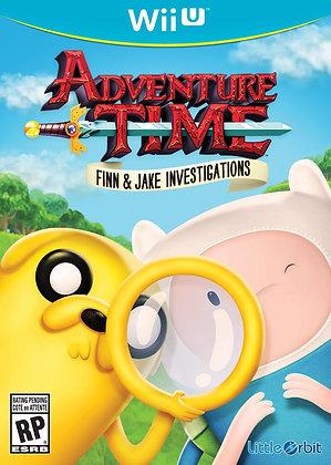 Adventure Time Finn & Jake Investigations. Wii U