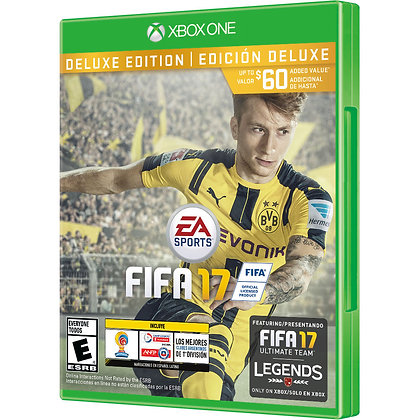 FIFA 17 DELUXE EDITION. XBOX ONE