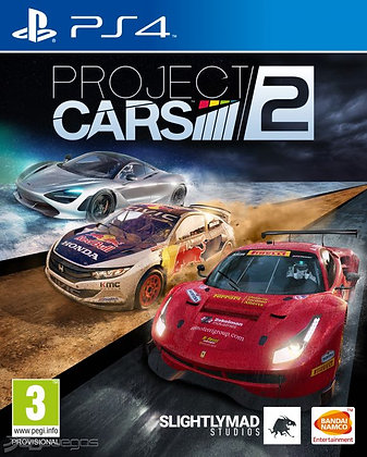 Project CARS 2 Ps4.