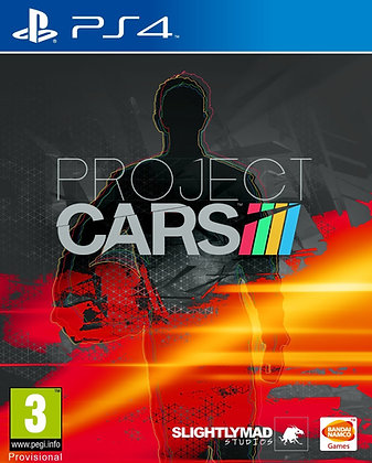 Project Cars. PS4