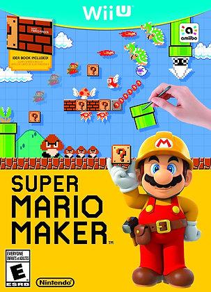 Super Mario Maker. WII U