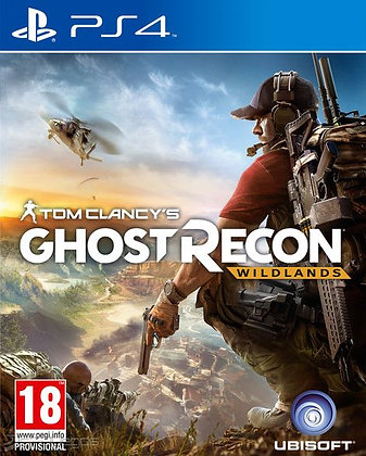 GHOST RECON WILDLANDS. PS4