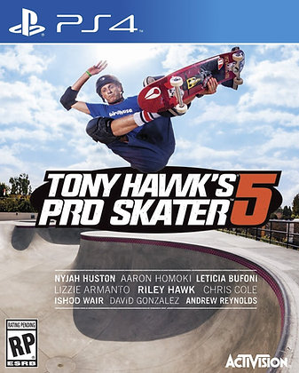 Tony Hawk's Pro Skater 5. PS4