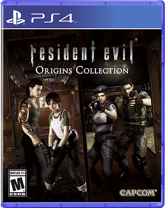 Resident Evil Origins Collection. PS4