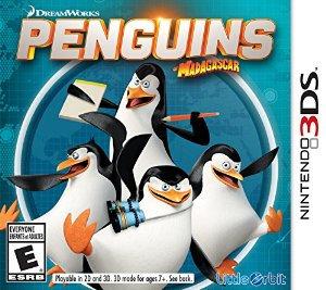 Los Pingüinos de Madagascar 3DS