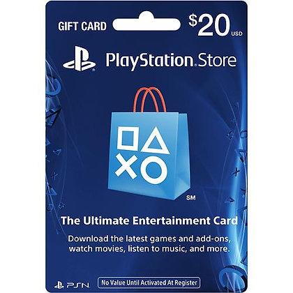PLAYSTATION CARD US$20