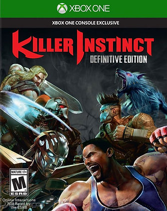 KILLER INSTINCT. Definitive Edition. XBOX ONE