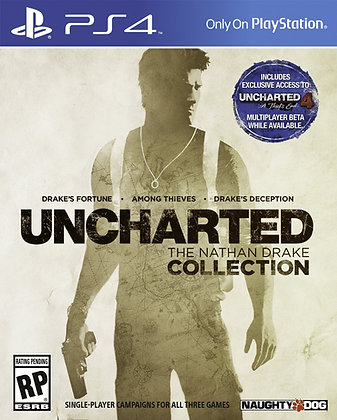 Uncharted The Nathan Drake Collection. PS4