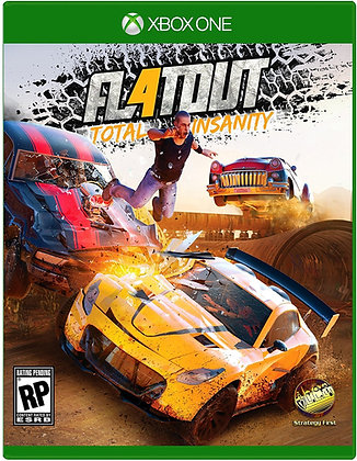 FLAT OUT 4. XBOX ONE
