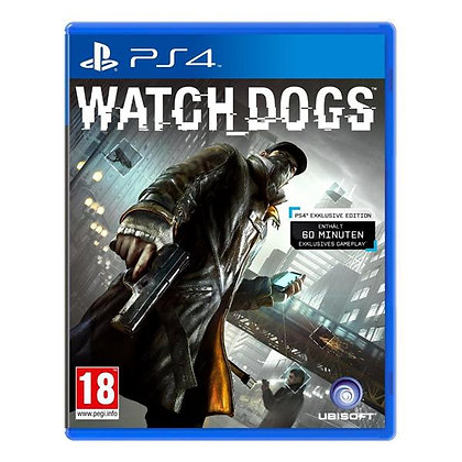 Watch Dogs. PS4