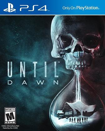 Until Dawn. PS4
