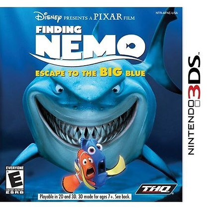 Finding Nemo Escape 3ds