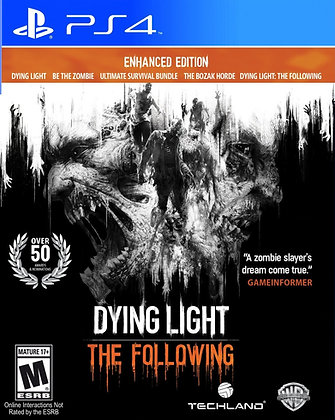 Dying Light The Following. PS4