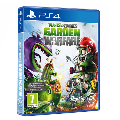 Plants vs. Zombies: Garden Warfare. PS4