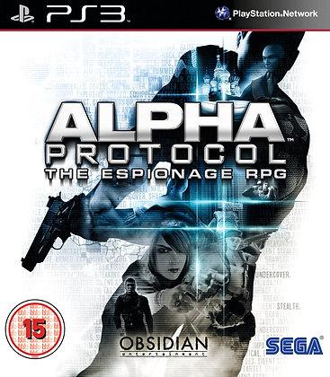 Alpha Protocol. PS3
