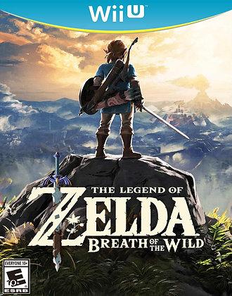 The Legend Of Zelda: Breath Of The Wild. Wii U